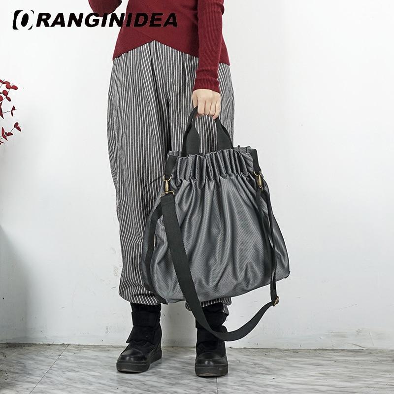 Femmes Toto sac ruché orgue sacs réfléchissants Nylon sacs à main grande capacité décontracté sac à bandoulière femme mode sacs à bandoulière
