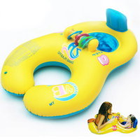 Аксессуары для плавания купальные принадлежности плавательный круг мать ребенок надувной круг плавательный круг Двойные детские надувные...