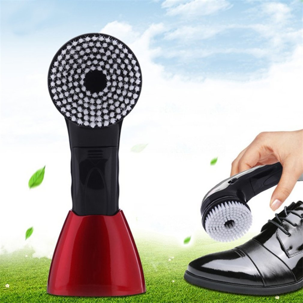 Household Electric Hand-held Leather Shoes Brush Artifact Leather CareHousehold Electric Hand-held Leather Shoes Brush Artifact Leather Care