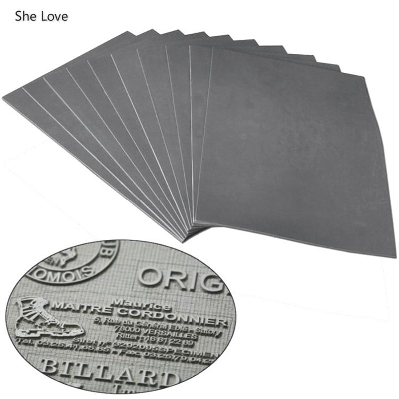 Chzimade A4 297x210x2.3mm Oil Abrasion Resistance Precise Laser Rubber Sheet Pad For Laser Engraving Machine Making Sealer Stamp|Cutting Dies| - AliExpress