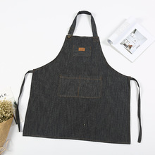 New Fashion Sleeveless Aprons Adjusts Women's Kitchen Apron Waterproof Anti-oil Delantal Cocina For Cooking Baking Restaurant