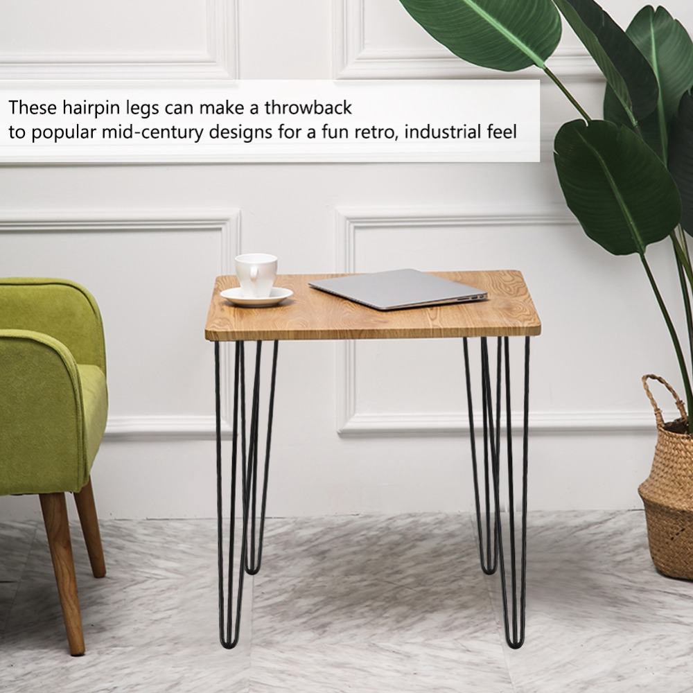 Diy Desk With Hairpin Legs Us 25 51 24 Off 4pcs 28 30inch Jambes De Meuble Hairpin Metal Furniture Table Legs Solid Iron Laptop Desk Diy Furniture Coffee Table Chair Leg In