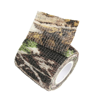4pcs/lot Elastic Stealth Tape Hunting Military Camouflage Tape Airsoft Paintball Gun Rifle Shooting Stretch Bandage Camo Tape 2