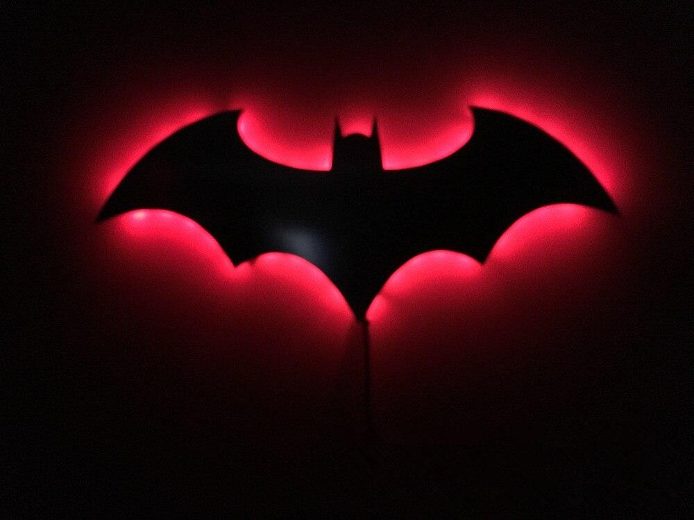 Luzes da Noite batman 3d novelty cor rgb Potência : 0-5 w