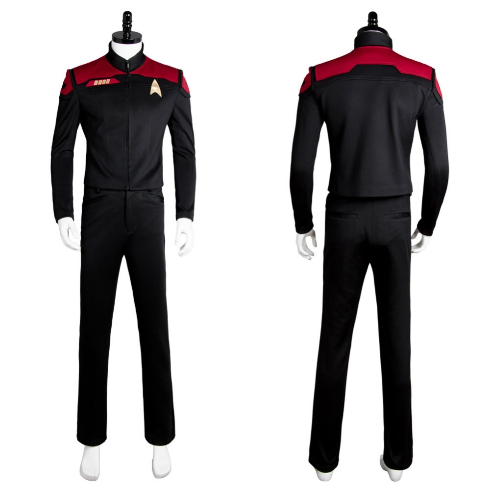 Hot Cosplay Star Trek Online Final Decision Uniform Costume Cosplay Version A Halloween Carnival Cosplay Costume Full Sets
