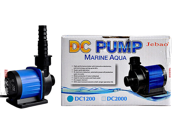 JEBAO DC1200 SUBMERSIBLE WATER PUMP W/ ADJUSTABLE CONTROLLER FISH TANK MARINE NANO PONDS POOL FOUTAIN PUMP 110V 220V 1200LH