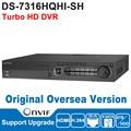 Pre-sale Hik DVR 4CH Digital Video Recorder DS-7316HQHI-SH Turbo HD DVR Surveillance Video Recorde TVI DVR Oversea Version