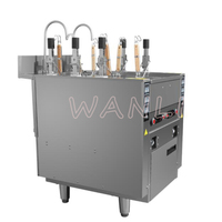 220V 12KW 3 head Noodle Cooking Machine Automatic Lifting Vertical Commercial Desktop Cooking Noodle Restaurant Catering