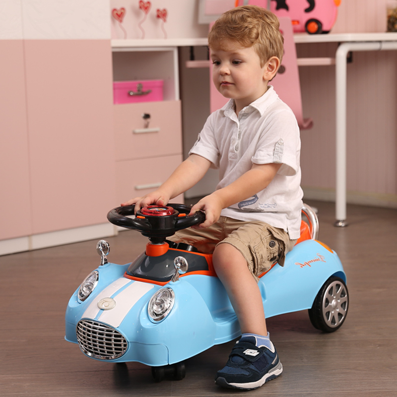цена на children scooter car with music baby walker car glide Toys scooter baby toy buggiest swing swaying vehicle for 1-10 years Walker