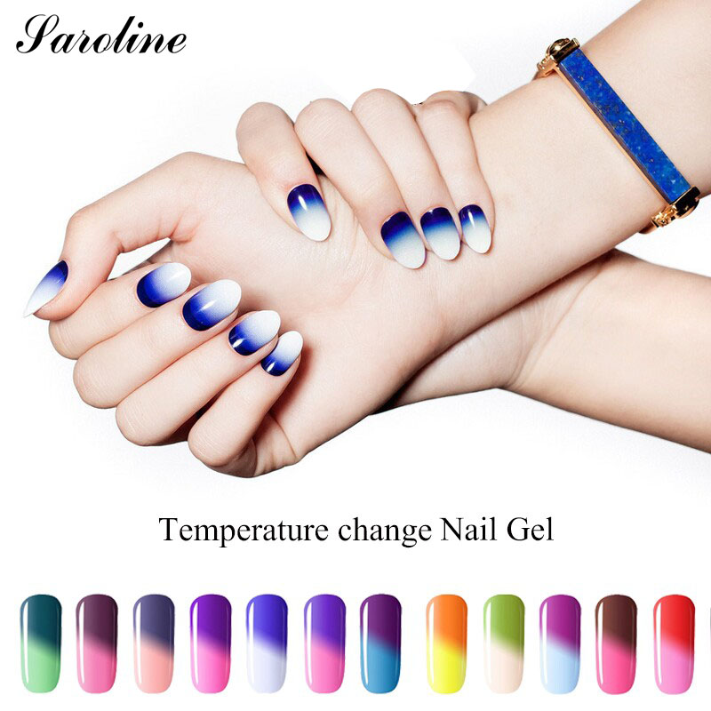 Saroline Temperature Changing Colors Nail Gel Polish