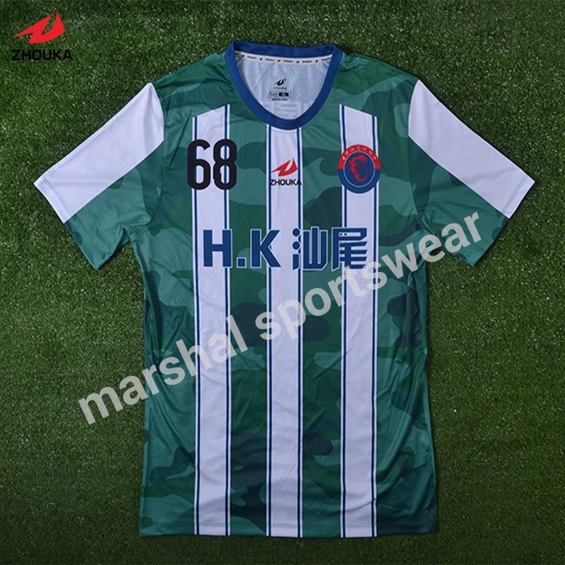 Maillot personnalisé de l'équipe de football impression par sublimation complète maillots de football personnalisés tailandia camisetas de futbol maillots de football