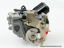 2011 New Motorcycle Carburetor Scooter Racing Motorcycle Carburetor GY6 50 19MM Free Shiping