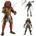 """7 """"18 cm PVC de Ficção-científica City Hunter Falconer Predator Alien VS Predator AVP Cicatriz brinquedos Figuras de Ação predador Figura Alienígena"""