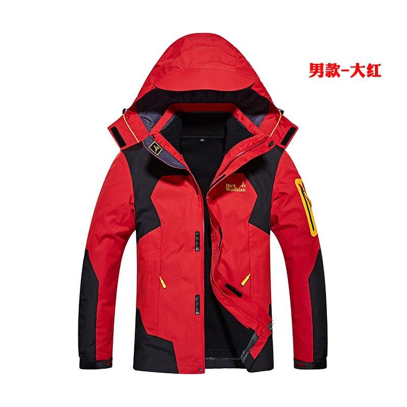 Femmes hiver 2 pièces à l'intérieur coton rembourré vestes plein air Sport imperméable manteaux thermiques randonnée Ski Camping femme veste