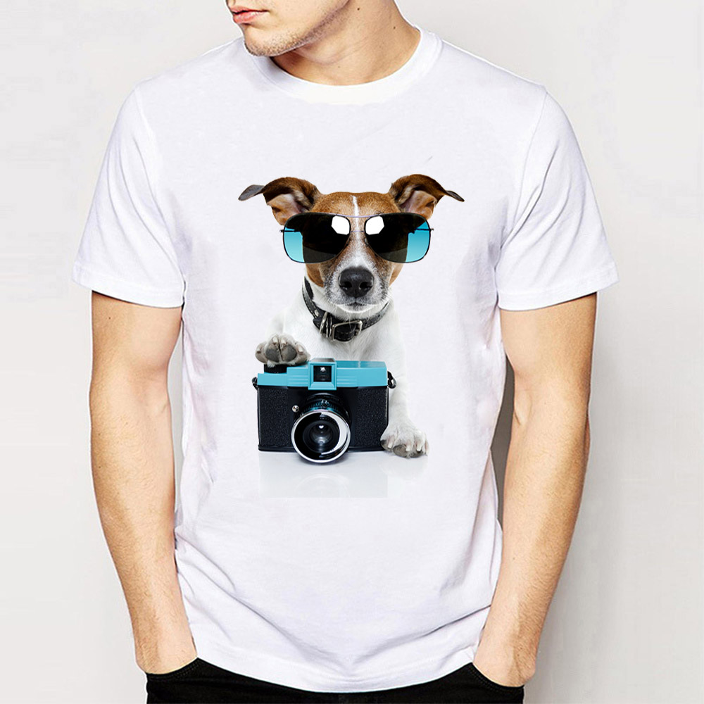 Beautiful New Summer Men's Short Sleeve Hipster Welsh Corgi Printed T-shirt High Quality Casual Male Tees Funny Dog Design Boy Tops Products Are Sold Without Limitations