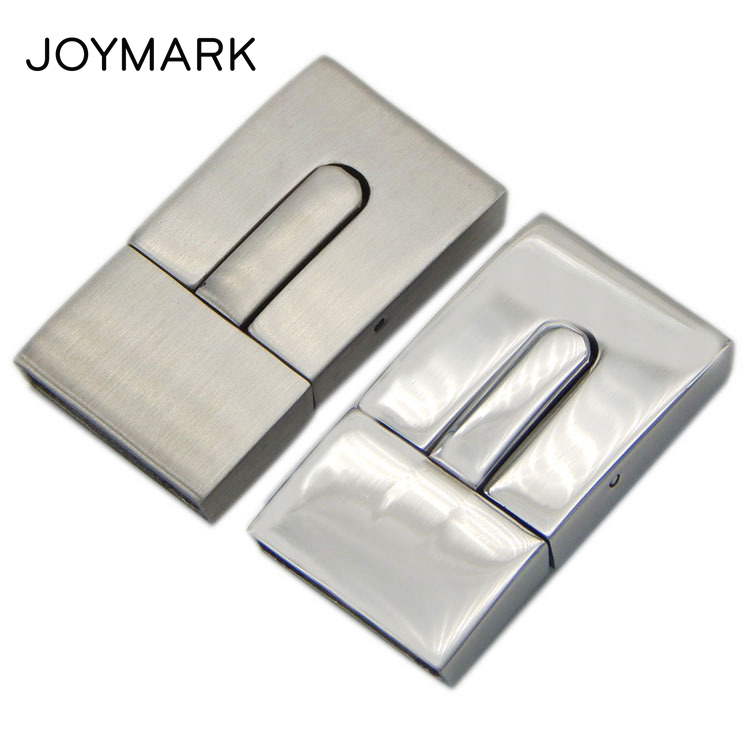 8X3mm 10X3mm 15X3mm Hole Smooth And Matte Rectangle Stainless Steel Bayonet Lock Box Clasps For DIY
