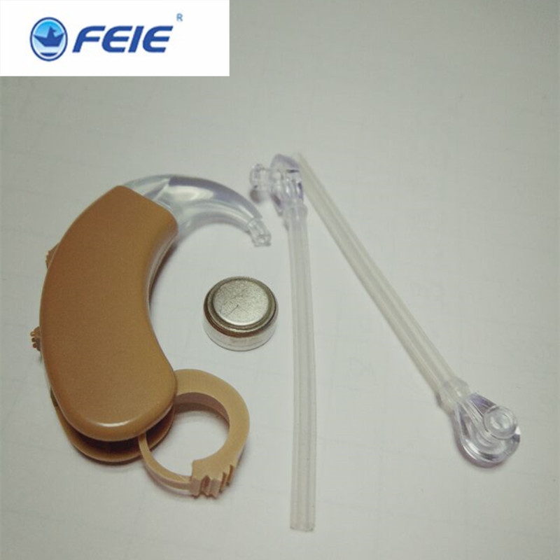 Analog Acousticon Behind the Ear Enhance Hearing Hearing Aid Aids Hear Clear S-998 Free Shipping free shipping hearing aids aid behind the ear sound amplifier with cheap china price s 268