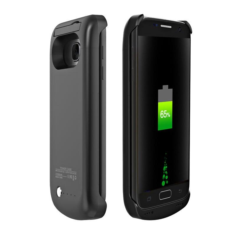 imágenes para Cubierta Del Caso Del Cargador Power Bank Batería Externa de Reserva Portable 5200 mAh para Samsung Galaxy G930 S7/S7 Borde G935 caja de Batería
