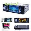 AUTO 4.1 Em 2D em Player De Vídeo Do Carro da Tela de Toque DVD Bluetooth Estéreo Rádio Áudio Do Carro MP5 USB Auto Eletrônica No Traço FEB15