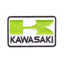 مناسبة لجميع أنواع الملابس كاواساكي النينجا الدراجات النارية سباق سوبر دراجة سترة قبعة زين الحديد على التصحيح