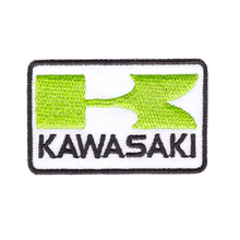 Suitable for all kinds of clothes KAWASAKI Ninja motorcycles Racing Super Bike Jacket Cap Applique IRON ON PATCH