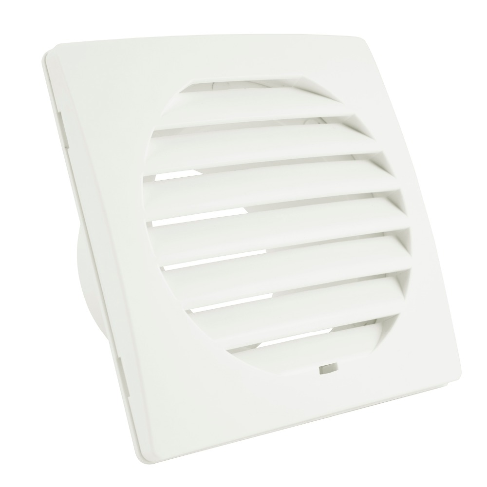 Home Square Air Vent ABS Louver Grille Cover Ventilation Wall Air Vent Extractor Fan Outlet Heating Cooling & Vents Household