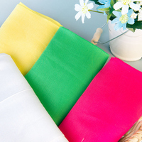 High Quality 100 145cm Meter Eco Friendly Linen Tencel Blend Fabric Solid Color For Trousers Table