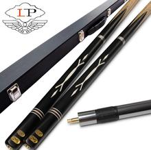 LP Duba 3/4 Snooker Cue Stick 9.8~10mm Tips 3 4 Cues Case Set Handle Inlay Technology Billiard Kit China 2019