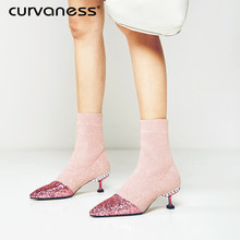f54364ce33 Sock Boots Glitter Promotion-Shop for Promotional Sock Boots Glitter ...