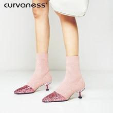a2508eaf37 Sock Boots Glitter Promotion-Shop for Promotional Sock Boots Glitter ...
