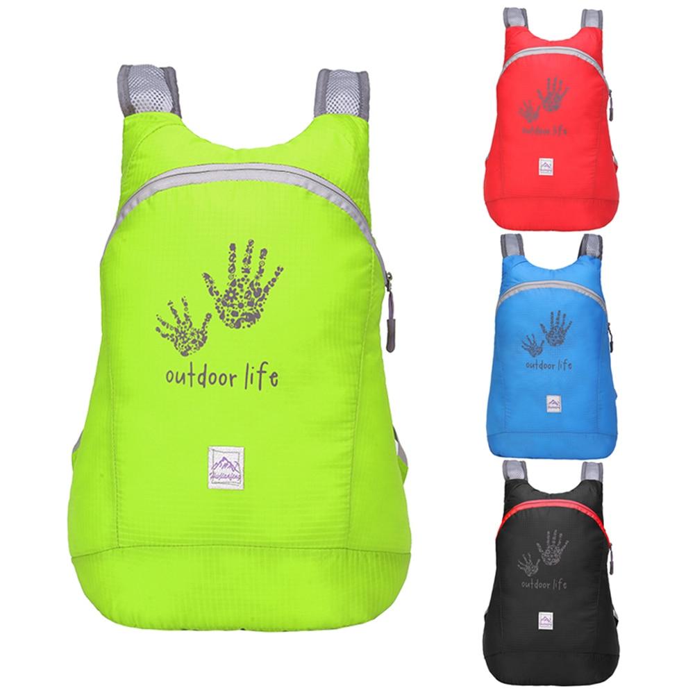Outdoor Waterproof 14L Camping Mountaineering Backpack Bag Women Men Sport Trekking Hiking Ultra-light Tourist Backpacks