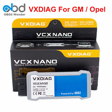2017 100% Original VXDIAG VCX NANO For GM Opel Diagnostic Scanner Software GDS2 USB WIFI Optional VXDIAG Code Reader Post Free(China)