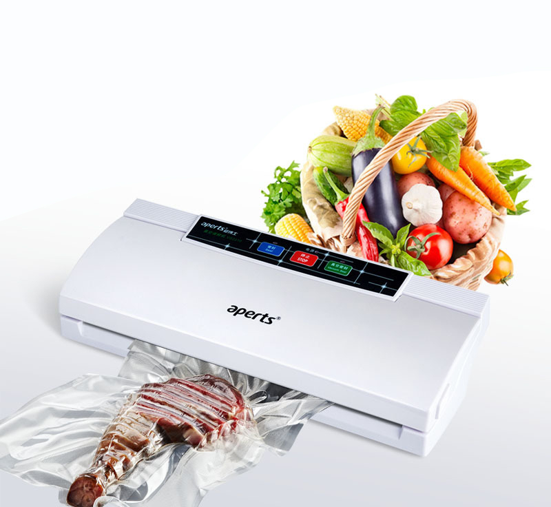New Automatic Household and commercial Wet and dry dual-use  Electric Vacuum Food Sealer Machine stylish 4 pcs water swelling dual use dry and wet beauty blender powder puffs
