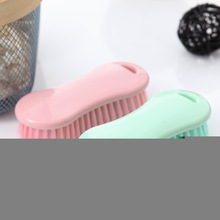 Yoopa simple cleaning brush multi-function candy color laundry pink sky blue