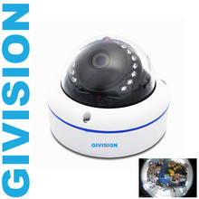 2MP HD cctv ahd security video camera mini dome Panoramic 1080P Fish eye lens 360 degree wide Angle surveillance camera