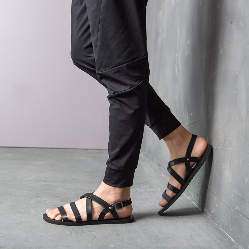 Buy 2017 New Arrival Summer Fashion Young Men Shoes Gladiator Sandals Rome