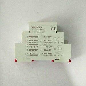 Image 3 - Multifunctionele Din Rail Automatische Timer Relais GRT8 M Ac Dc 12V 24V 220V Dpdt Schakelaar Tijd Relais