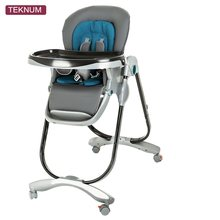 TEKNUM Baby Chair Foldable Multi-purpose Portable Child Dining Table Chair(China)