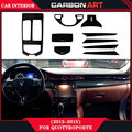 for maserati quottroporte 2012 2013 2014 2015 carbon cf auto interior restoration parts vehical interior