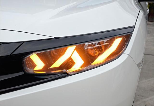 2016 ~ 2018/2012 ~ 2015 ปีรถยนต์สำหรับ Civic ไฟหน้า, xenon hid/LED DRL หมอกสำหรับ Civic หัวโคมไฟ