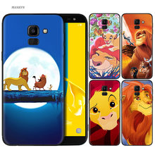 Siliconen Case Voor Samsung Galaxy Note 8 9 10 Plus 5G 10 + 10 + 5G Soft Cover shell Hakuna Matata Lion King(China)