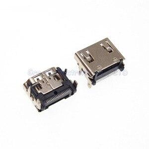 Prise de Port HDMI 19 broches, 25 pièces, Interface SMT HD