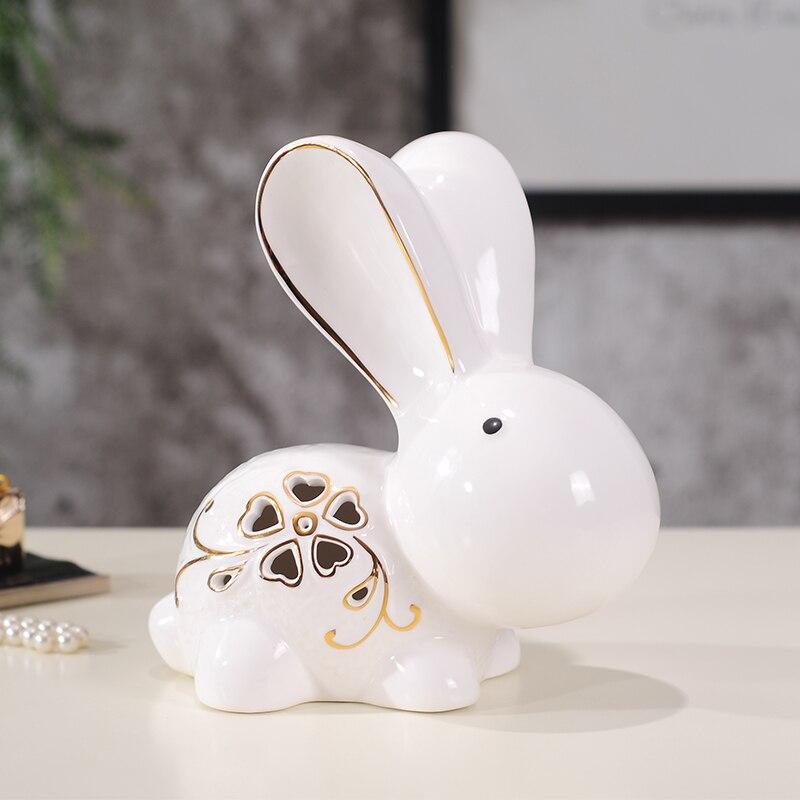 Свадебный подарок Домашнее украшение новые дома любителей керамических ремесел украшение животных 1 пара - 3