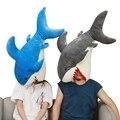Забавная игрушка-Акула  мягкая плюшевая Реалистичная кукла-Акула для детей  90 см