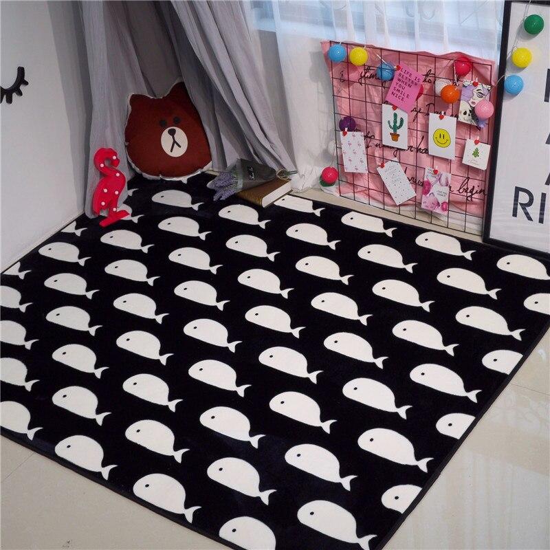Bedroom Black Rug Glass Bedroom Door Bedroom Paint Ideas Feature Walls Bedroom Door Colors: Fashion Cute Baby Whales Black Living Room Bedroom