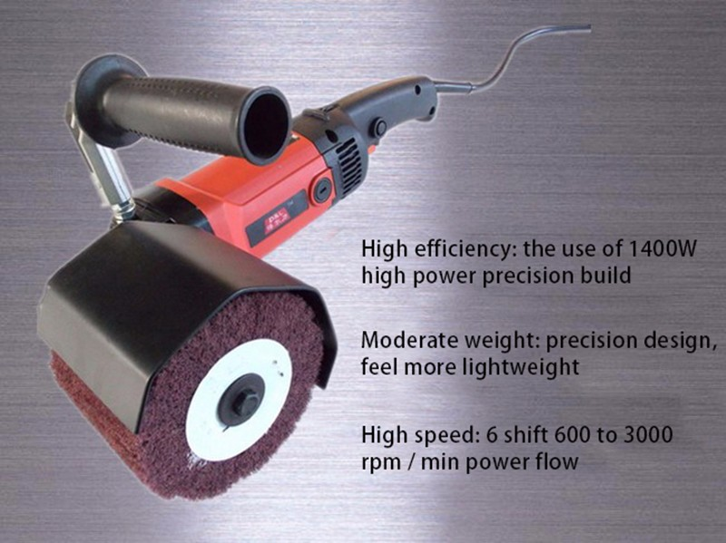 Stainless Steel Polishing Machine Wire Drawing Machine Flat Machine Polisher Metal Wire Drawing DL-180A