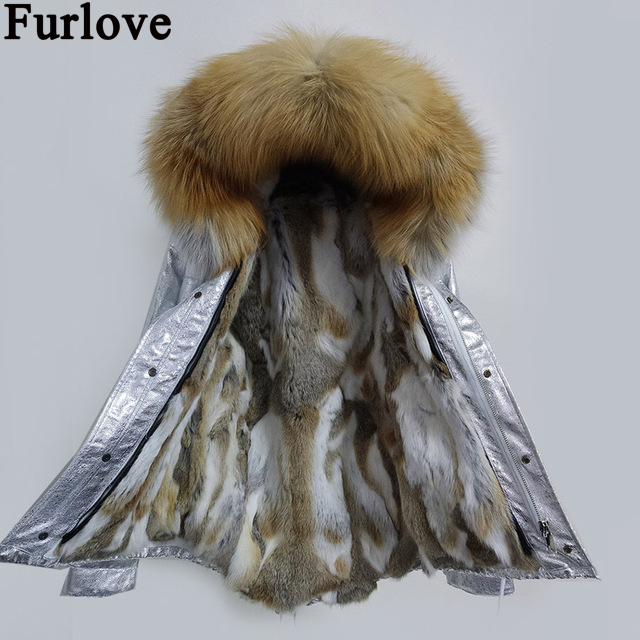 2017 Parka femme army green Large raccoon fur collar hooded coat parkas outwear detachable rabbit fur lining winter jacket kohuijoos 3xl winter women army green large raccoon fur collar hooded coat warm detachable natural fox fur lining parka coats
