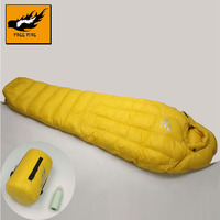 FREE FIRE Camping Sleeping Bag 2D Synthetic Ultralight Sleeping Bag Outdoor Camping Sleeping Bag Ultralight Winter