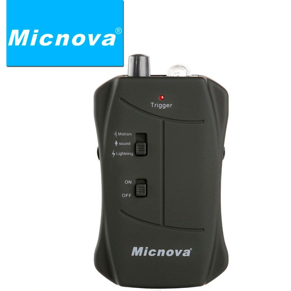 Micnova MQ-VTC Pro foudre feux d'artifice mouvement et son capteur faune déclencheur pour Canon rebelle T1, T2, T3, T3i, T4i EOS 3 caméra