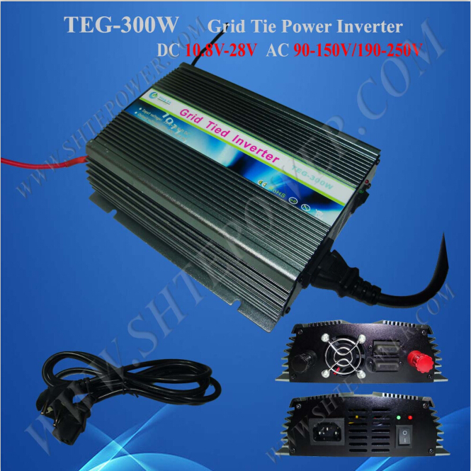 цена на 300w pure sine wave grid tie solar inverter 12v 230v for home solar system